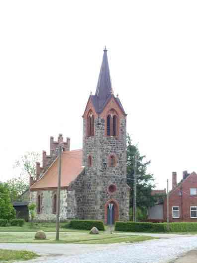 Kirche Rambow in der Gemeinde Plattenburg