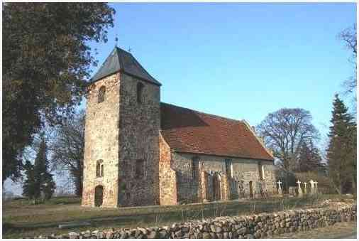 Kirche in Rambow (Müritzkreis)
