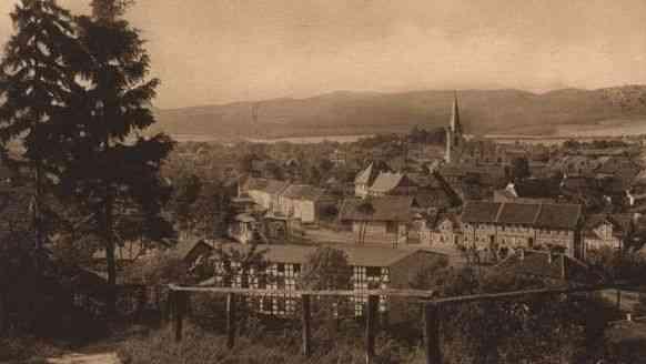 Alte Postkartenansicht von Ellrich