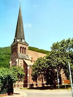 Stifts Kirche St. Georg-Marien in Ilfeld