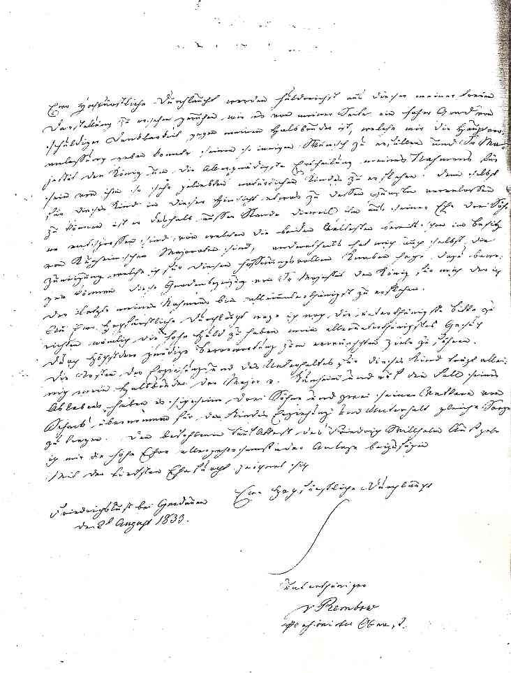 schreiben-rembow-1833-2