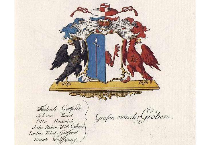 Wappen der Grafen von der Groeben