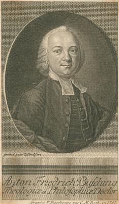 Bildniss Anton Friedrich Büsching
