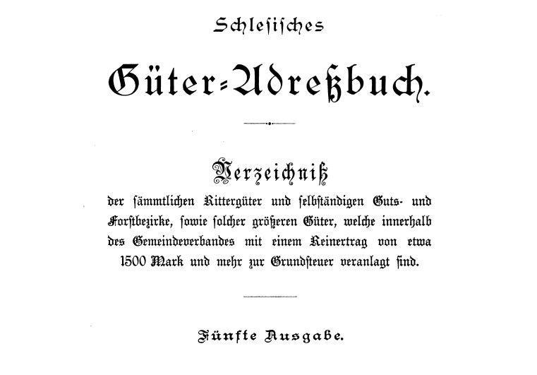 Güteradressbuch