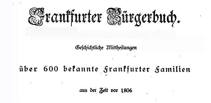 Buergerbuch-Frankfurt