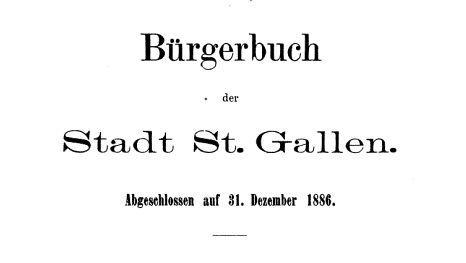 Buergerbuch-St.Gallen