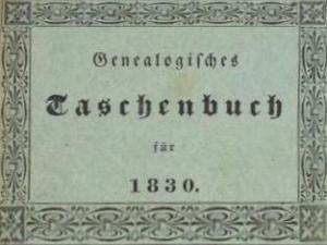 Genealogisches-Taschenbuch