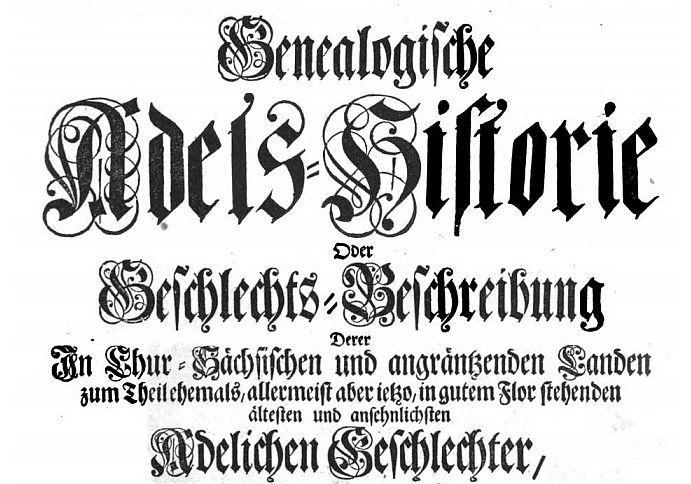 König-Adelshistorie
