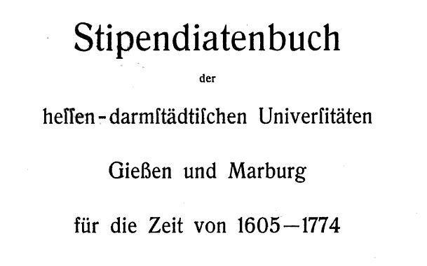 Stipendiatenbuch