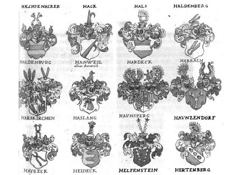 Einzinger-von-Einzig-Wappen