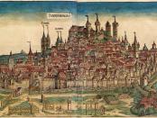 Älteste gedruckte Stadtansicht von Nürnberg