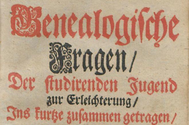 Genealogische-Fragen