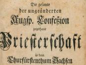 Pfarrerbuch-Sachsens