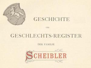 Geschichte-Scheibler