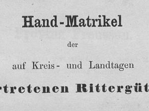 Hand-Matrikel