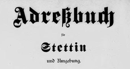 Adressbuch-Stettin