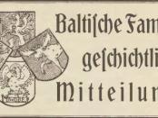 Baltische-Familiengeschichte-Mitteilungen