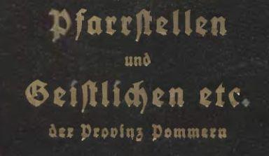 Pfarreien-Pommern