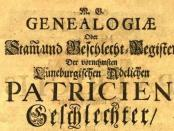 Genealogien-Luebenurg-Patrizier