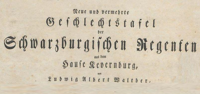 Geschlechtstafel-Kevernburg