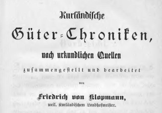 Gueter-Urkunden-Kurland