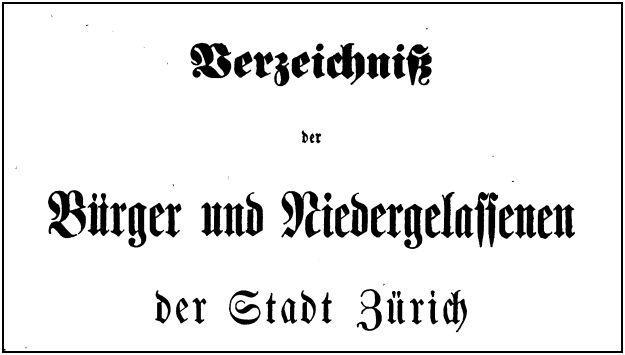 Buergerbuch-Zuerich