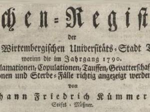 Kirchenregister-Tuebingen