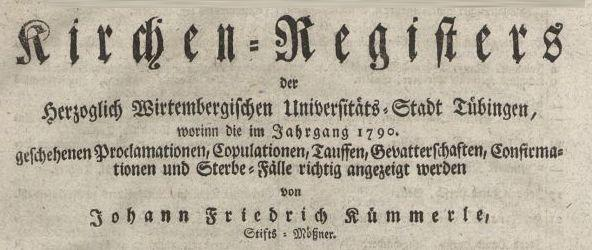 Kirchenregister-Tuebingen