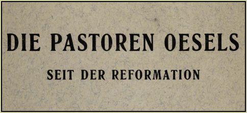 Pastoren-Oesels