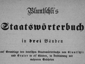 Staatswoerterbuch