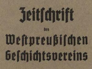 Zeitschrift-Westpreussen