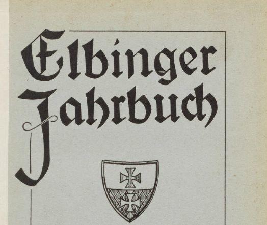 Elbinger-Jahrbook