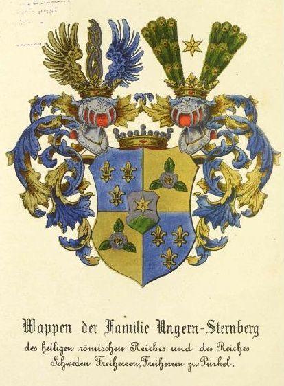 Ungern-Sternberg-Wappen