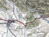 Appenrode Karte mit Wohnplatz Bettlershayn