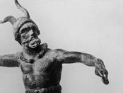 Gallier mit Hörnerhelm