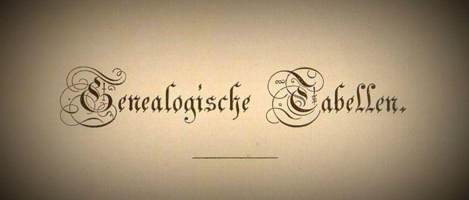 Genealogische-Tabellen