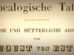 Genealogische-Tafel-von-Este