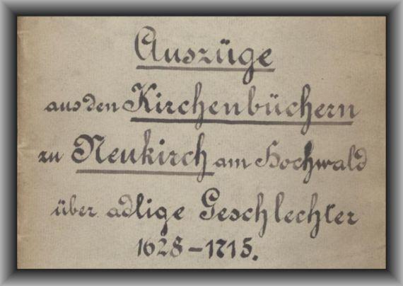 Kirchenbuch-Neukirch