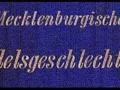 Mecklenburgische-Adelsgeschlechter