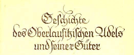 OberlausitzischerAdel