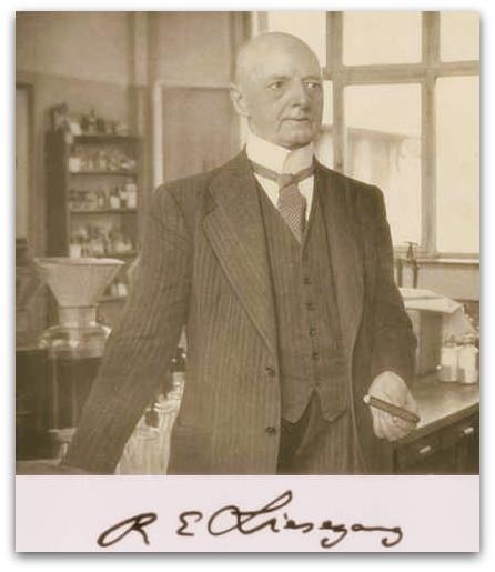 Wissenschaftler Raphael Liesegang