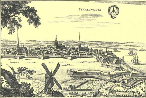 Stadtansicht-Stralsund