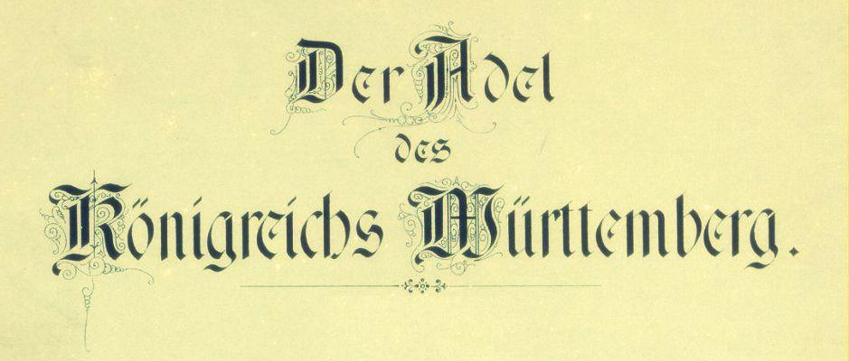 adel-wuerttemberg