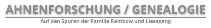 Ahnenforschung / Genealogie