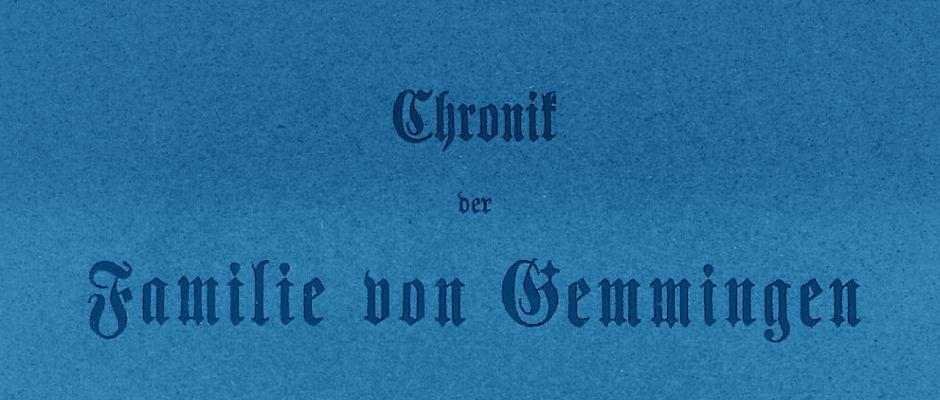 von-Gemmingen
